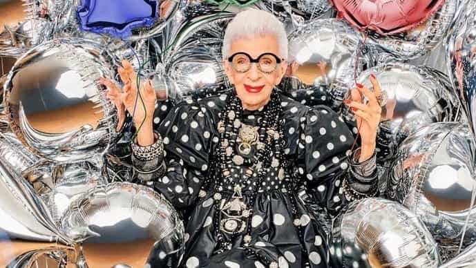 The exuberant interior designer Iris Apfel's love of maximalism and exacting eye for details proves that age is just a number.
