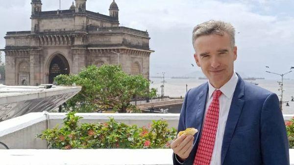 British High Commissioner Alex Ellis