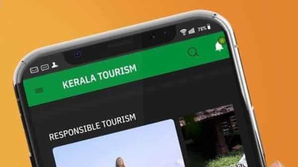 Newly launched mobile app of Kerala Tourism