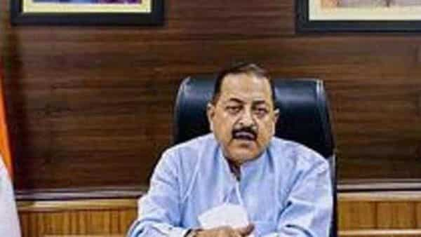 Union minister of state for science Dr Jitendra Singh. (HT)