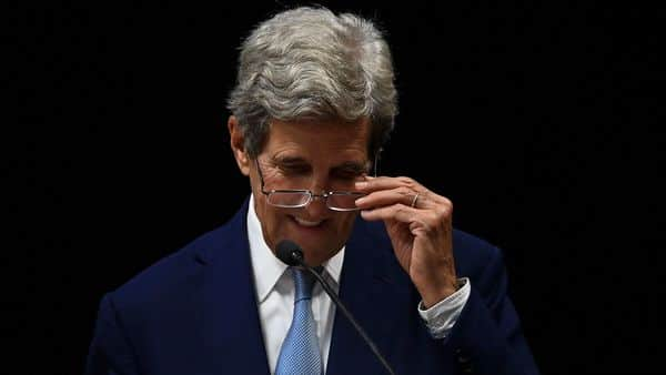 US Special Presidential Envoy for Climate John Kerry. (AFP)