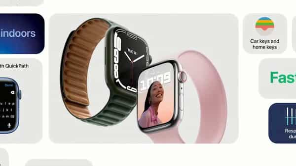 The new Apple Watch Series 7 is also compatible with older generation Watch straps