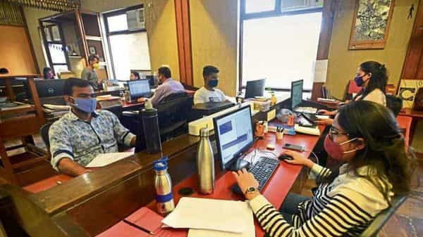 Firms are planning to extend the virtual or hybrid work model, leaving the decision to employees if they opt to come to work. (Photo: HT)