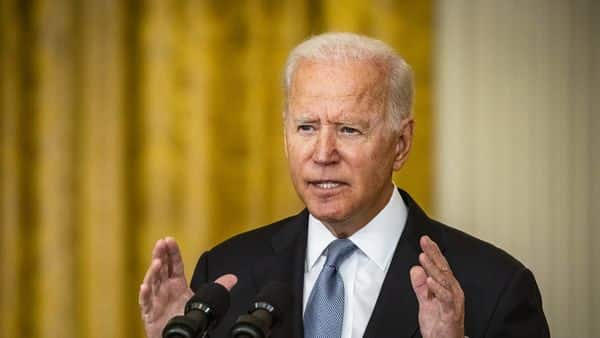 89îUS President Joe Biden defended his decision to withdraw US troops from Afghanistan (Photo: Bloomberg)
