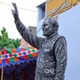 PM Modi's statue made from scrap material by Andhra artists
