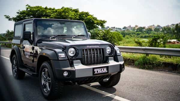 The new Mahindra Thar is powered by a 2.2-litre m-Hawk Turbo diesel engine or a 2-litre m-Stallion engine.