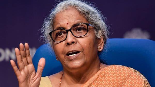 Union Finance Minister Nirmala Sitharaman. (PTI)