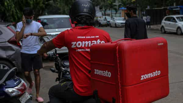 Zomato will discontinue its grocery delivery services from today, Sept 17. (Bloomberg)