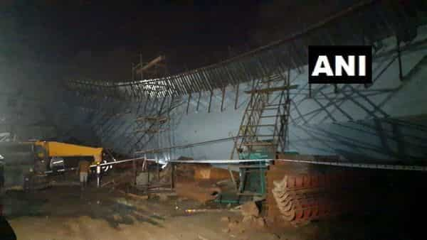The people injured in the flyover collapse were taken to a nearby hospital, according to an official of the fire brigade