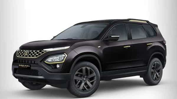 The Gold Edition Tata Safari will be available in White Gold and Black Gold Colours