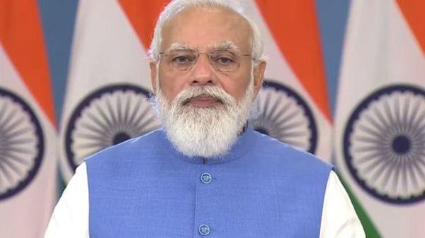 PM Modi addresses at Global Covid-19 summit.