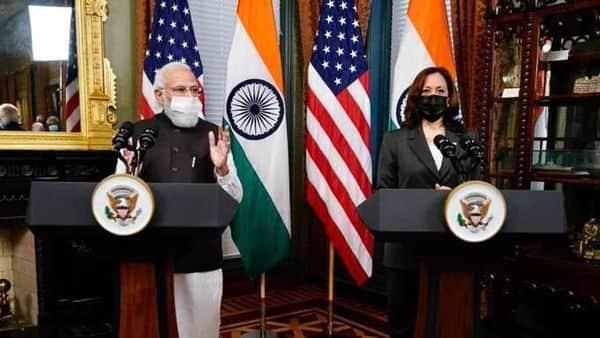 Prime Minister Modi and Kamala Harris held delegation-level talks at the Eisenhower Executive Office Building, near the premises of the White House