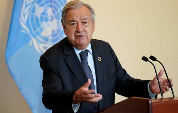 UN Secretary General António Guterres is hoping for climate solidarity between nations.