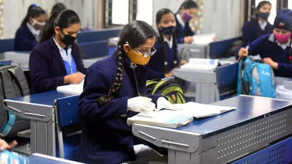 Parents also expressed their satisfaction over exams being conducted in physical classes. (HT)