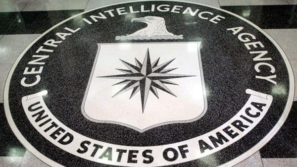 FILE PHOTO: The logo of the U.S. Central Intelligence Agency is shown in the lobby of the CIA headquarters (REUTERS)