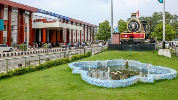India railways redesigns Madhya Pradesh Jabalpur train station