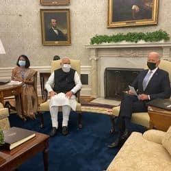 H-1B visa: PM Modi raises issues of Indian professionals with President Biden