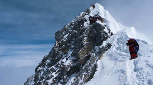 He attended a high-altitude climbing course, upped his training and within a year was peak bagging mountains around the world (MINT_PRINT)
