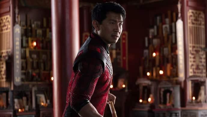 Simu Liu in 'Shang-Chi and the Legend of the Ten Rings'. Image via AP