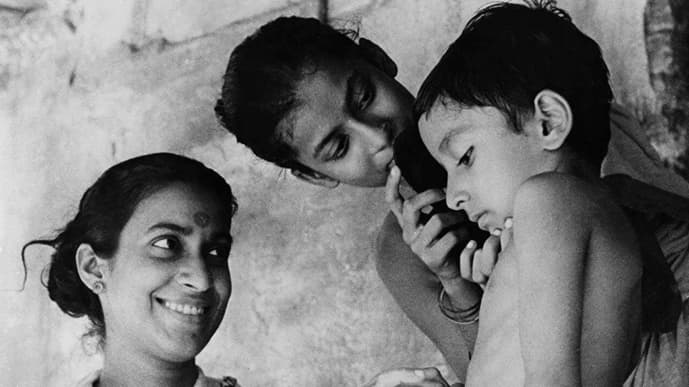 Satyajit Ray's 'Pather Panchali' was a key film in the development of art cinema and film societies