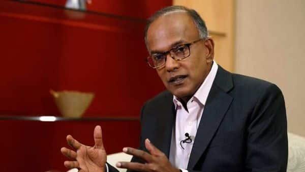 Singapore's Law Minister K. Shanmugam. (REUTERS)