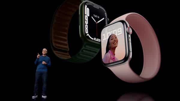 The Apple Series 7 has been priced at a price of  ₹41,990 (REUTERS)