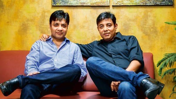 CarDekho co-founders Anurag Jain (left) and Amit Jain.