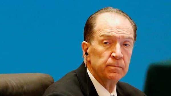 World Bank President David Malpass (REUTERS)