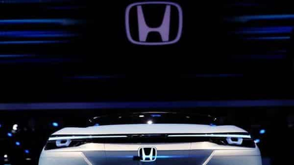 A Honda SUV e:Prototype electric vehicle (EV). (REUTERS)