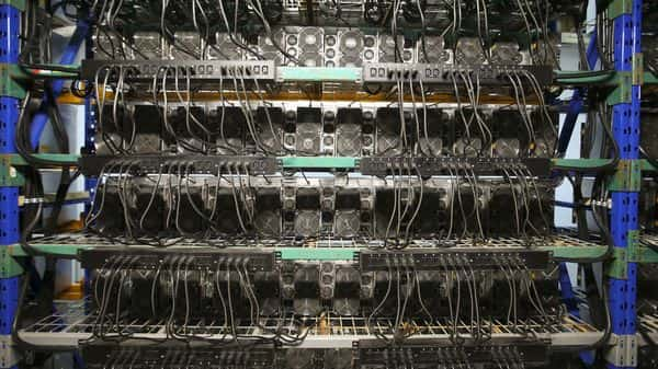 China's share of the power of computers connected to the global bitcoin network, known as the 'hash rate', fell to zero by July from 44% in May (Bloomberg)