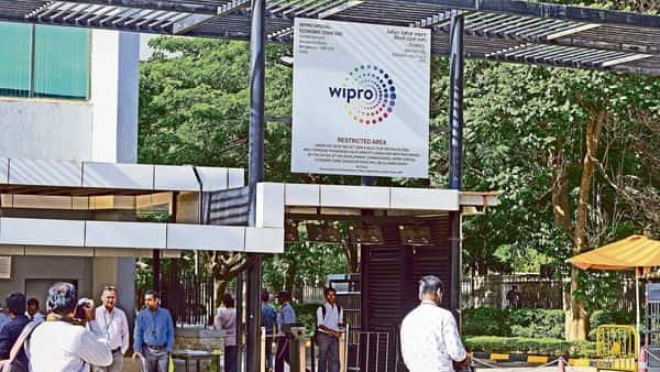Ahead of the Wipro results, the company's scrip rose nearly 2% to close at  ₹672.35 on NSE. So far, this year the shares have risen by a massive 70.33%. (MINT_PRINT)