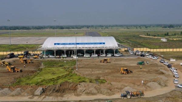 Uttar Pradesh's Kushinagar International airport (AP)