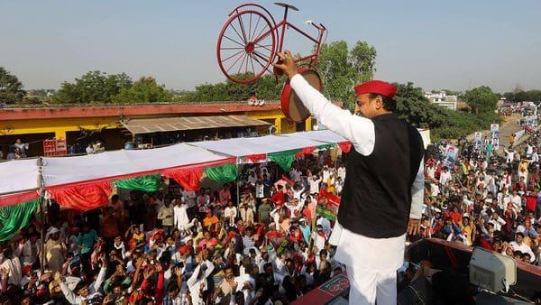 Samajwadi Party President Akhilesh Yadav (PTI)