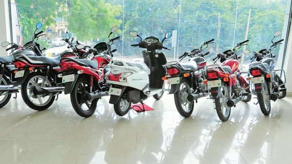 Dealers have built inventories of up to two months in anticipation of healthy festival season sales of two-wheelers.