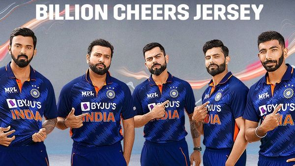 The Board of Control for Cricket in India (BCCI) on Wednesday unveiled the new jersey of the men's team ahead of the upcoming T20 World Cup.