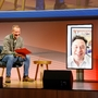 Tesla Inc CEO Elon Musk and Volkswagen CEO Herbert Diess at Volkswagen AG conference