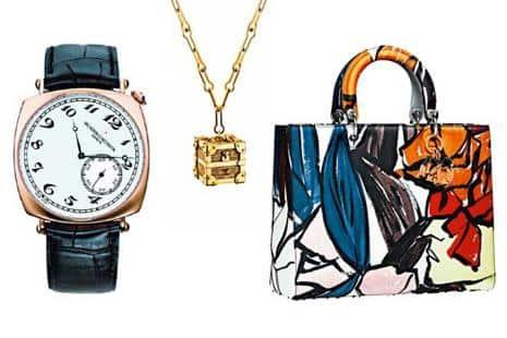 9b4877d6253e A Vacheron Constantin timepiece  a Petite Malle pendant pays tribute to the  iconic Louis Vuitton