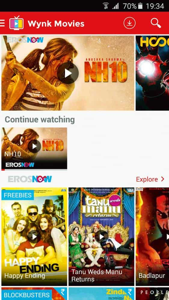 TV streaming on the go