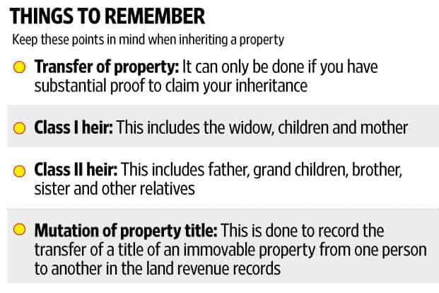 3 steps to take when you inherit a property