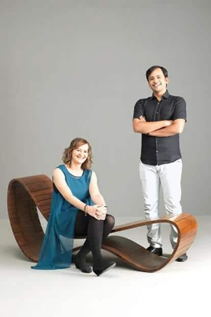 Smart Lounger by Amit Gupta and Britta Knobel Gupta.