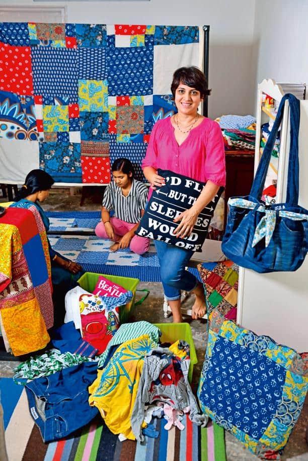 Ayesha Desai's workshop is a kaleidoscopic experience. Photo: Pradeep Gaur/Mint