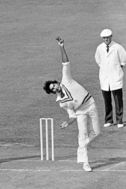 Shastri bowling against England at Lord's, London, 1982. Photo: Ken Kelly/Popperfoto/Getty Images