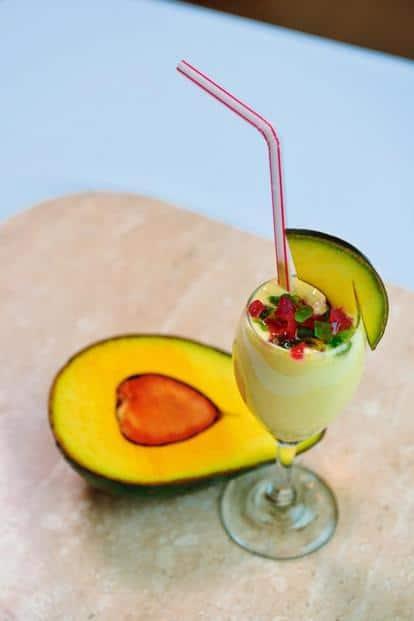Coconut, Avocado delight.