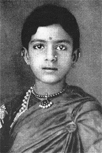 M.S. Subbulakshmi.