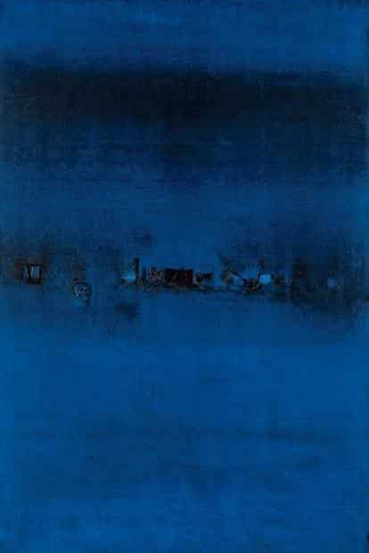 V.S. Gaitonde's 'Untitled' (1963), estimated price Rs10-15 crore. Photo: Saffronart