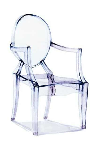Louis Ghost Chair by Philippe Starck.