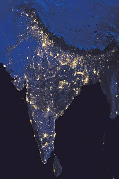 India 2016. Photo Courtesy: Nasa