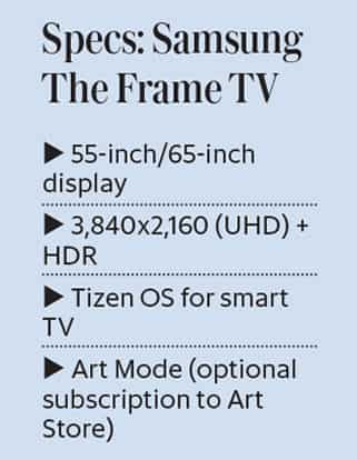 Review: Samsung The Frame TV