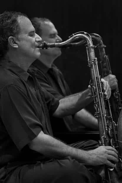 American saxophonist George Brooks.