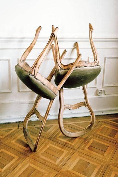 Aruna Canevascini's domestic 'objets trouves.' Courtesy GoaPhoto